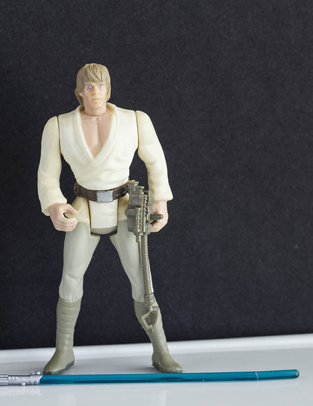 Luke Skywalker POTF2 Loose
