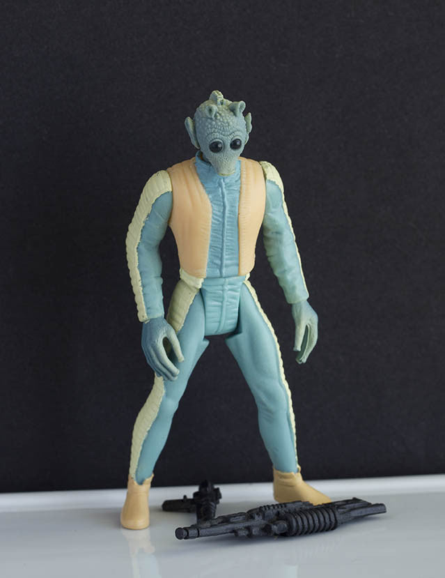 "Greedo Star Wars POTF2 3.75"" Loose"