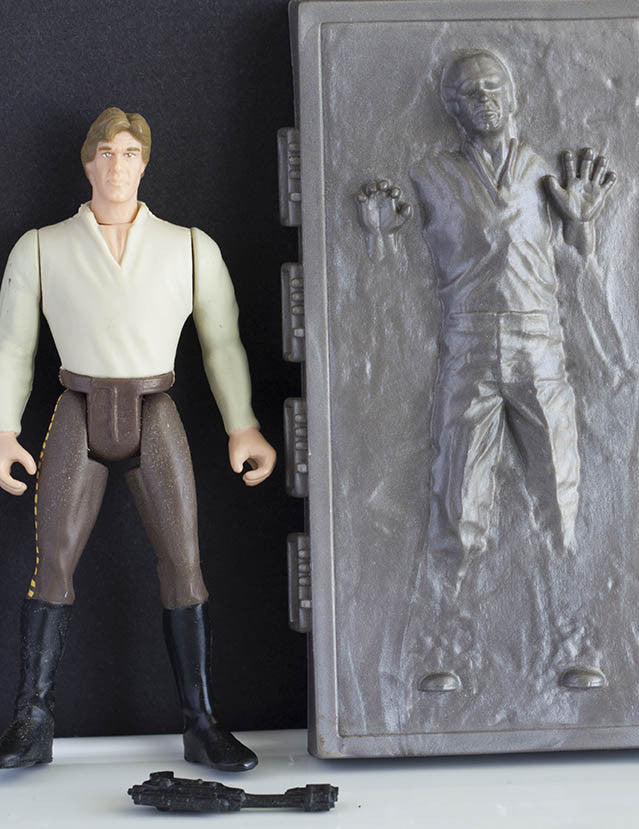 Han with Carbonite POTF2 Loose