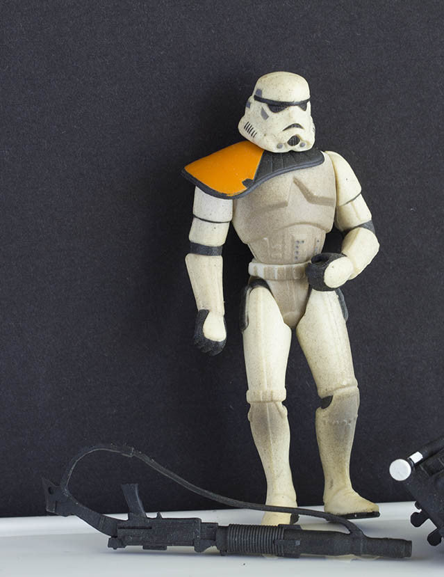 "Sandtrooper Star Wars POTF2 3.75"" Loose"
