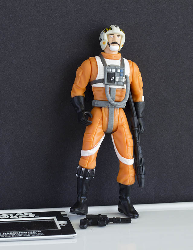 Biggs Darklighter Freeze Frame POTF2 Loose