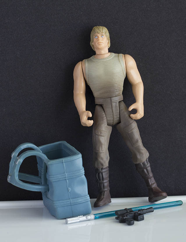 Luke Skywalker Dagobah POTF2 Loose