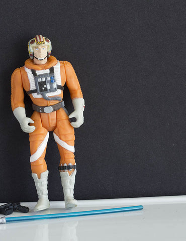 Luke Skywalker Rebel Pilot POTF2 Loose