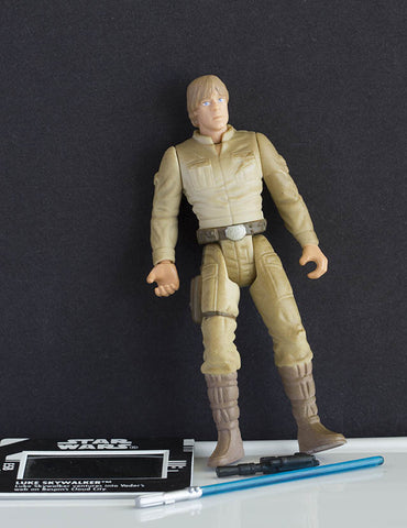 Luke Skywalker Bespin Outfit Freeze Frame POTF2 Loose