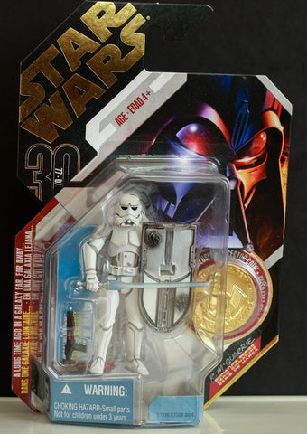 #09 McQuarrie Stormtrooper Concept Star Wars 30th Anniversary 3.75""