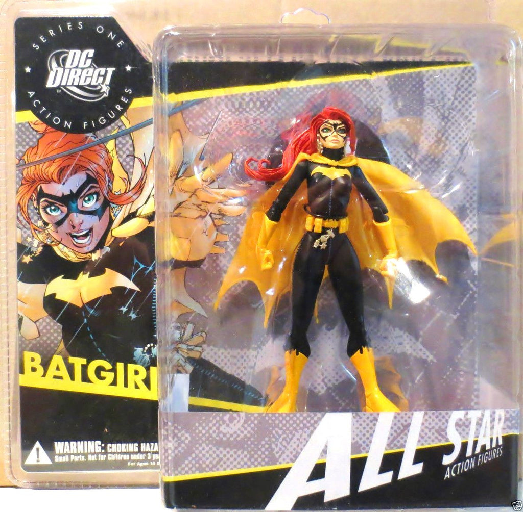 Batgirl All Star Action Figures DC Direct Series One