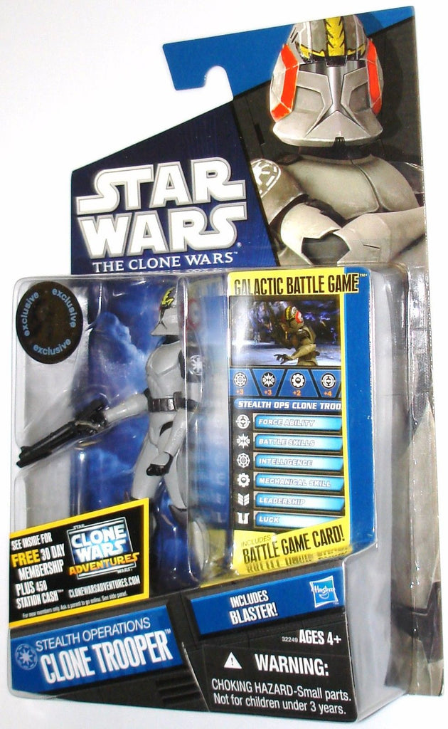Stealth Operations Clone Trooper Star Wars The Clone Wars 3.75""