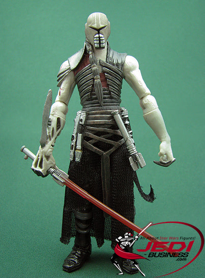 "GALEN MAREK (Vader's Secret Apprentice - Sith Outfit) The 30th Anniversary Collection 2008  3.75"" Loose"