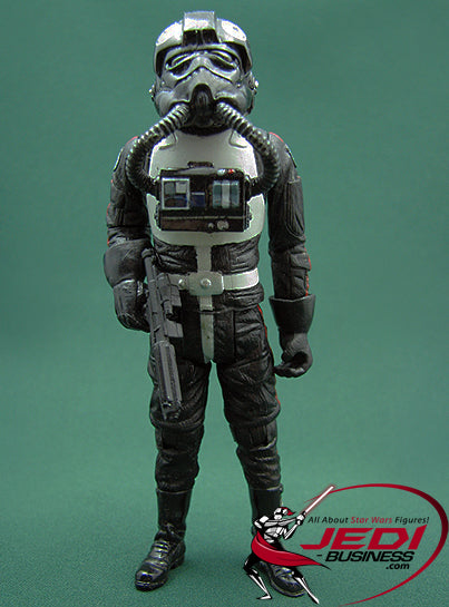 "Elite Tie Interceptor TIE FIGHTER PILOT (181st Squadron) The 30th Anniversary  3.75"" Loose"