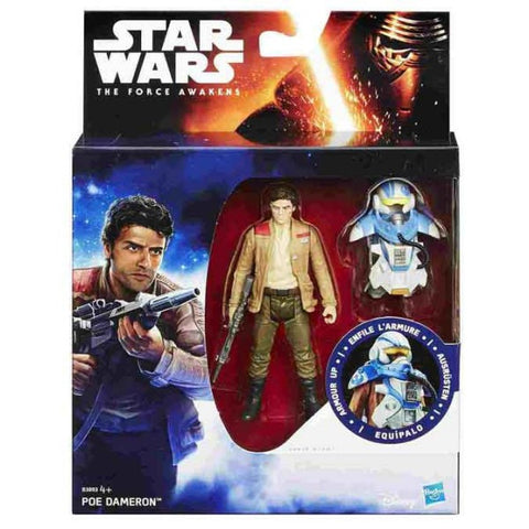 Armor Up Poe Dameron Star Wars The Force Awakens 3.75""