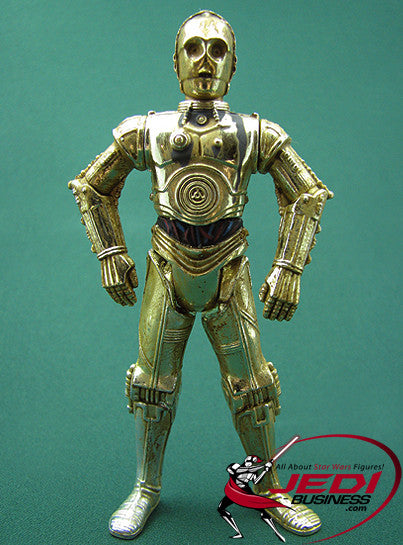 "Star Wars C-3PO Purchase of the Droids POTF2 3.75"" Loose"