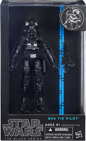 "#05 Tie Pilot Star Wars Black Series 6"" (OPEN BOX)"