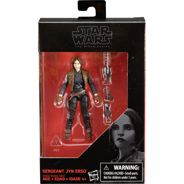 Sergeant Jyn Erso Star Wars The Black Series 3.75""