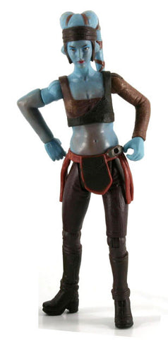 "Aayla Secura Star Wars Revenge of the Sith 3.75"" Loose (incomplete)"