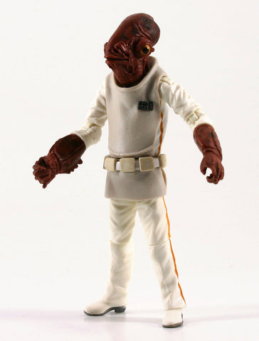 "Admiral Ackbar Star Wars The Vintage Collection 3.75"" Loose (incomplete)"