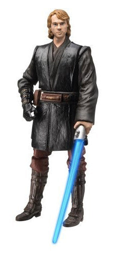 "Anakin Skywalker Movie Heroes Light up Lightsaber 3.75"" Loose"