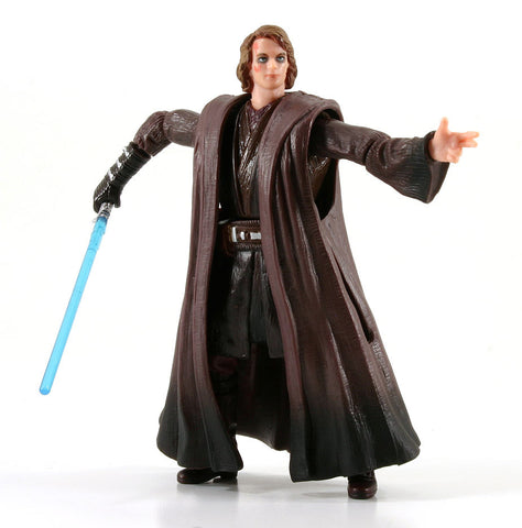 "Anakin Skywalker Slashing Attack Star Wars Revenge of the Sith 3.75"" Loose"