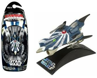 Anakin's Modified Jedi Starfighter Titanium Series Scaled Model Vehicle (2006)