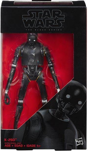 #24 K-2SO Star Wars Black Series 6""
