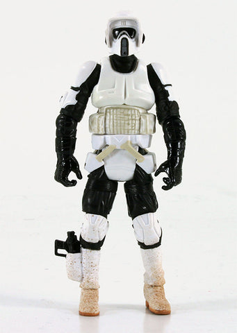 "Biker Scout Trooper Star Wars SAGA 3.75"" Loose"