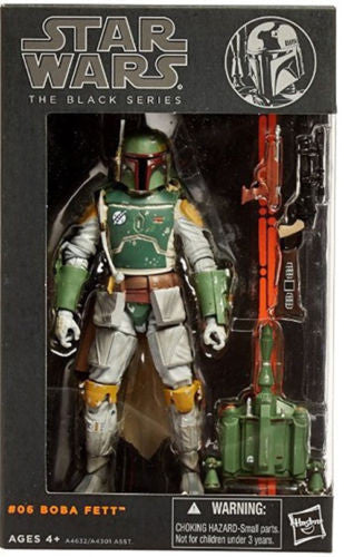 #06 Boba Fett Star Wars Black Series 6""