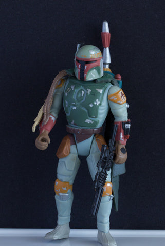 "Boba Fett Star Wars POTF2 3.75"" Loose (NM)"