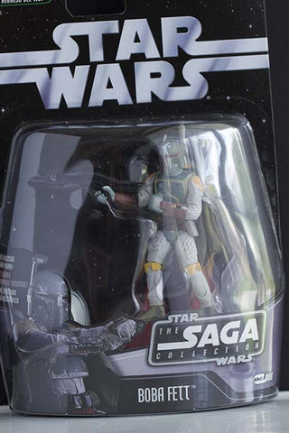 #006 Boba Fett Star War SAGA Collection 3.75""