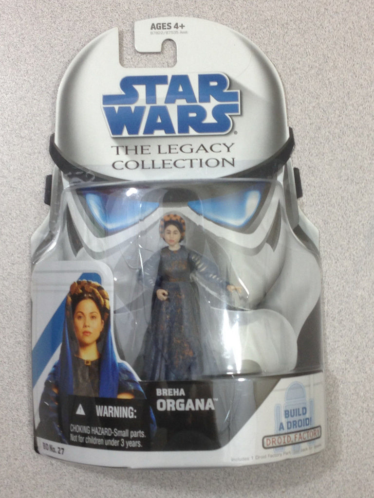 Breha Organa The Legacy Collection Build a Droid Part (MB-RA-7) 3.75""