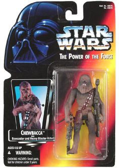 Chewbacca Red Card POTF2 (1995) NEW 3.75""