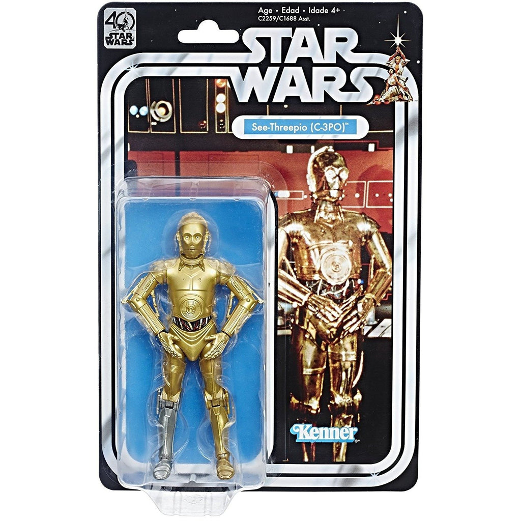 C-3PO Star Wars Black Series 40th Anniversary 6""