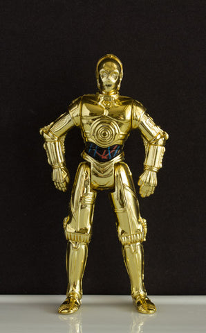 "C-3PO (STAR WARS) - STAR WARS POWER OF THE FORCE 2, 1995 3.75"" LOOSE (NM)"