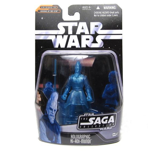 #027 Holographic Ki-Adi-Mundi Star Wars SAGA Collection 3.75""