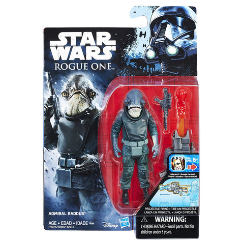 Admiral Raddus Star Wars Rogue One 3.75""