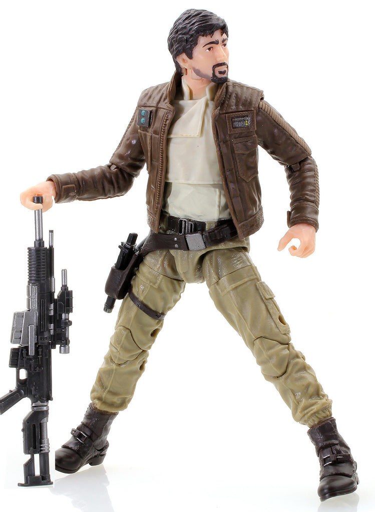 "Captain Cassian Andor Star Wars Black Series 6"" Loose"