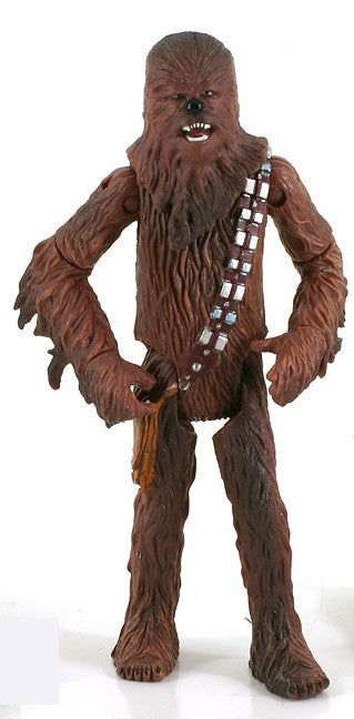 "Chewbacca Star Wars SAGA 3.75"" Loose (incomplete)"