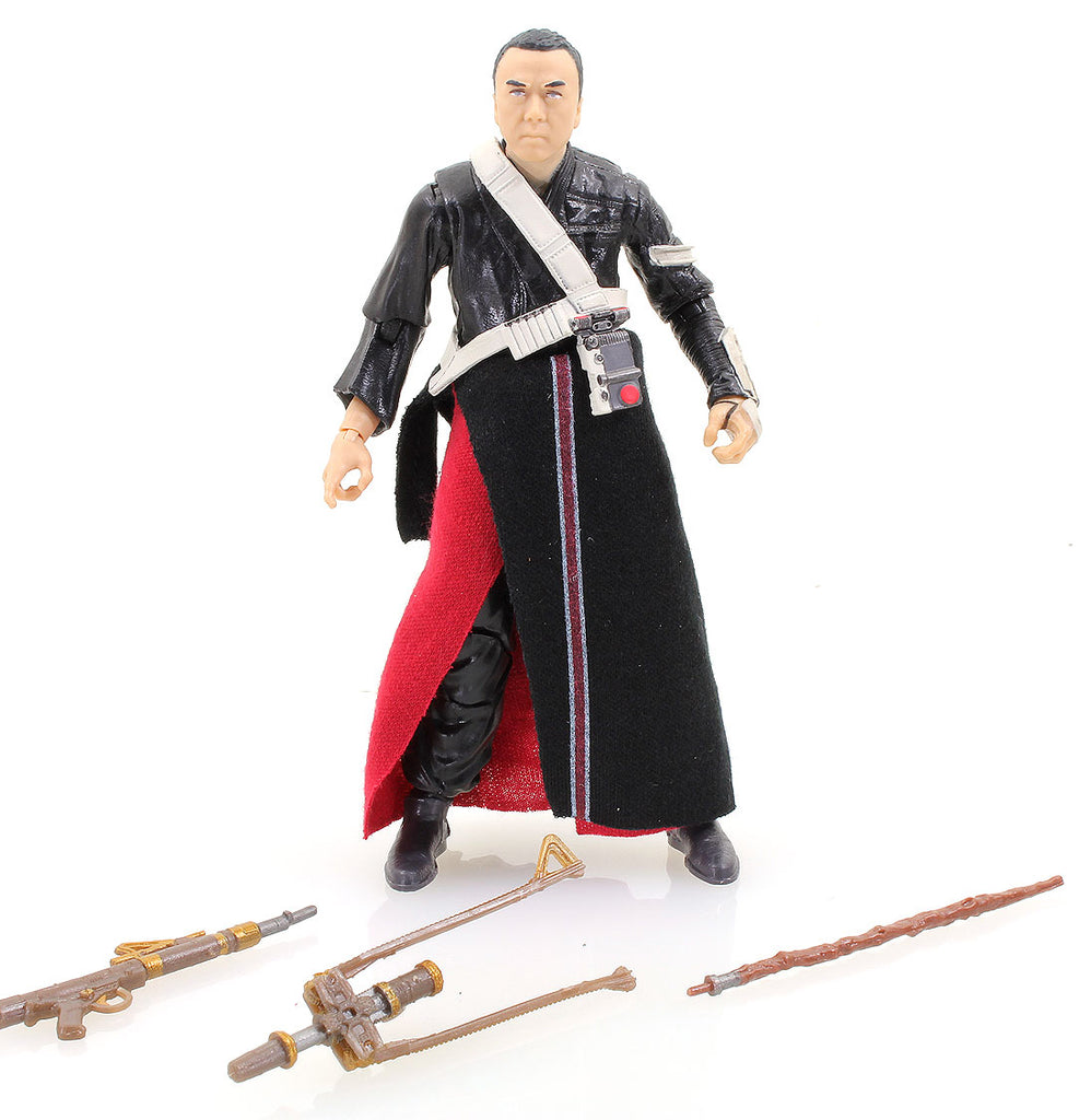 "#36 Chirrut Imwe Star Wars Black Series 6"" Loose (incomplete)"