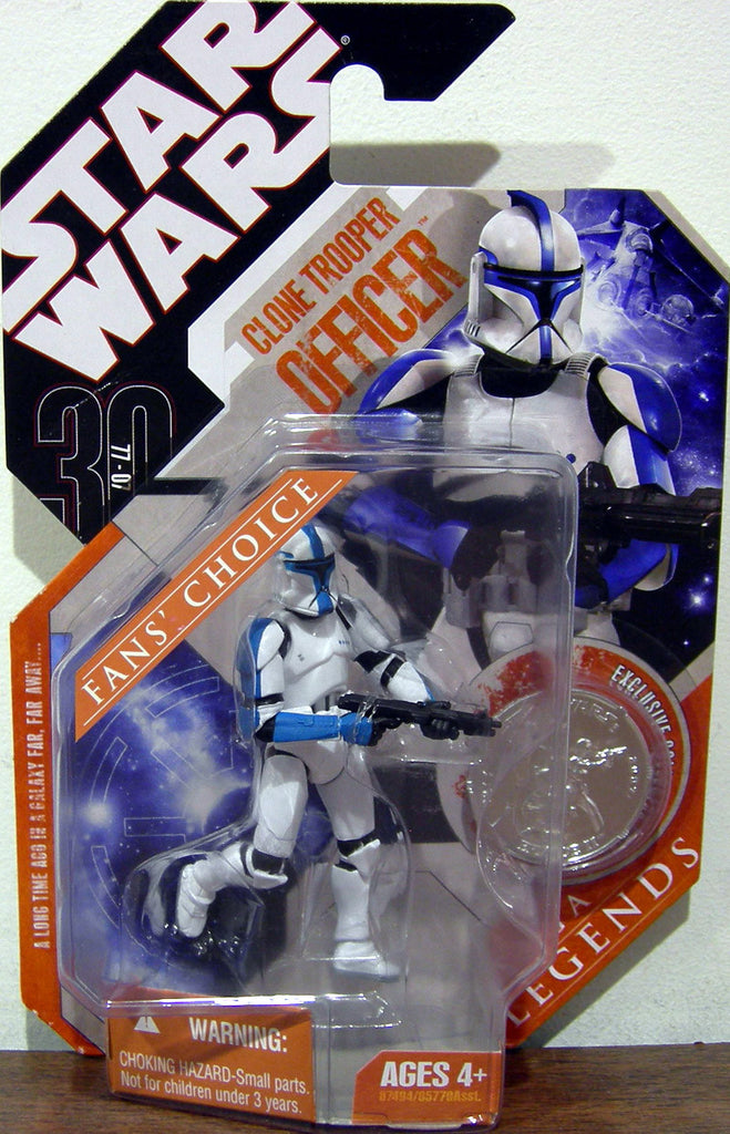 Clone Trooper Blue Fan's Choice 30th Anniversary 3.75""
