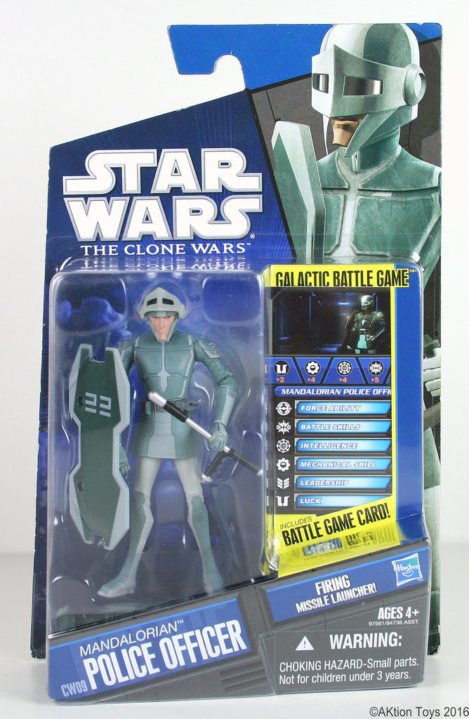 CW09 Mandalorian Police Officer Clone Wars 3.75""