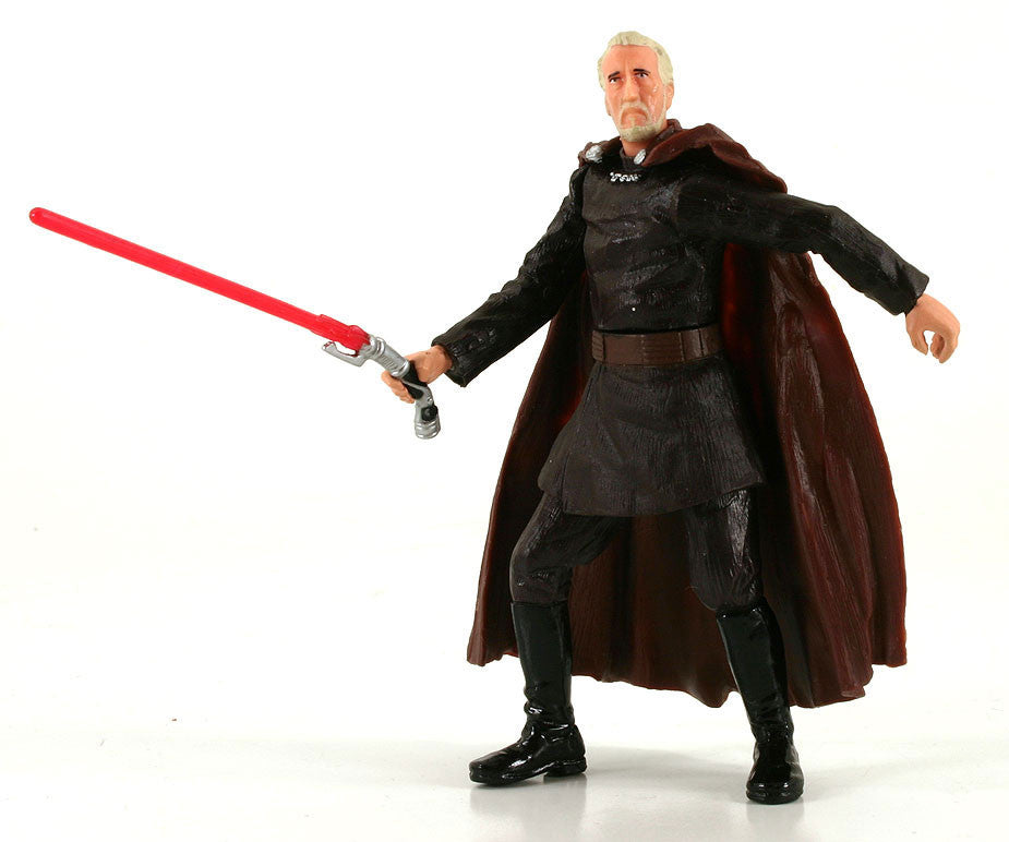 "Count Dooku (Dark Lord) Star Wars SAGA 3.75"" Loose (incomplete)"