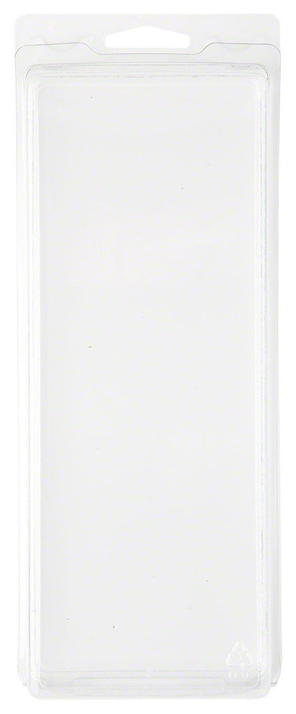 "Clear Plastic Clamshell Package / Storage Case, 8.19"" H x 3"" W x 1.5"" D"