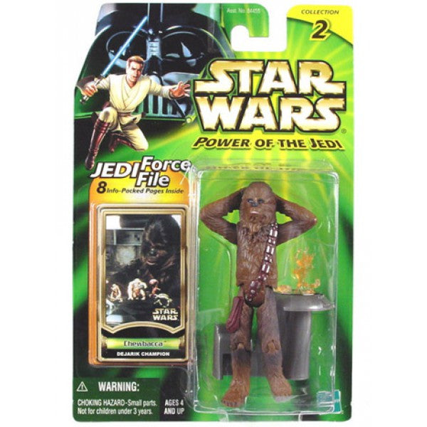 Chewbacca Dejarik Champion Power of the Jedi (2000) NEW 3.75""