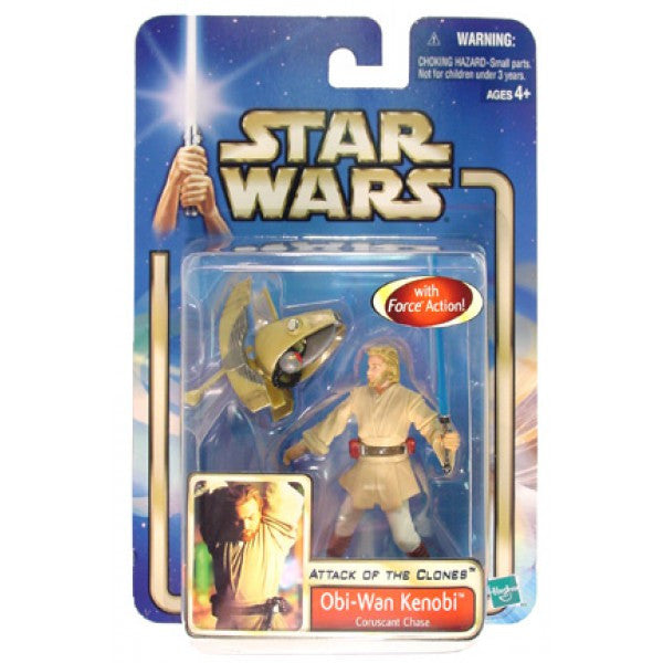 Obi-Wan Kenobi Coruscant Chase Attack of the Clones