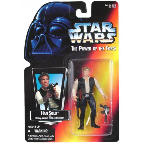 Han Solo POTF2 Red Card