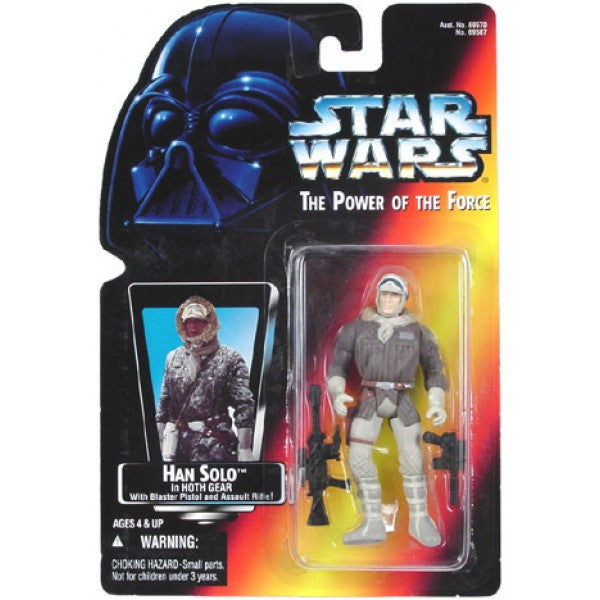 Han Solo Hoth Gear POTF2 NEW 3.75""