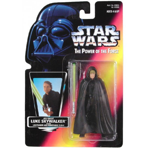 Luke Skywalker Jedi Knight POTF2 NEW 3.75""