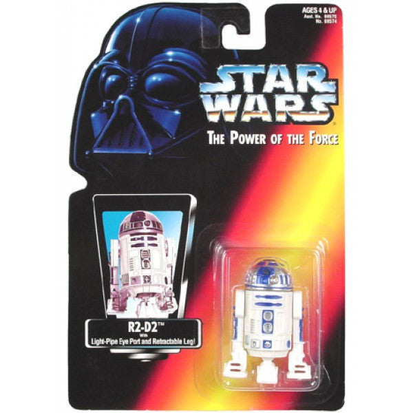 R2-D2 POTF2 Red Card NEW 3.75""