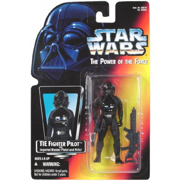 TIE FIGHTER PILOT POTF2 NEW 3.75""