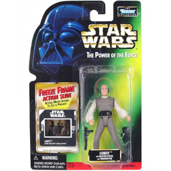 Lobot Freeze Frame POTF2 NEW 3.75""