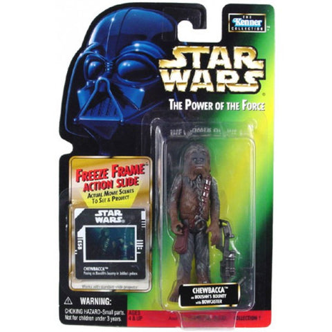 Chewbacca as Boushh's bounty POTF2 NEW 3.75""