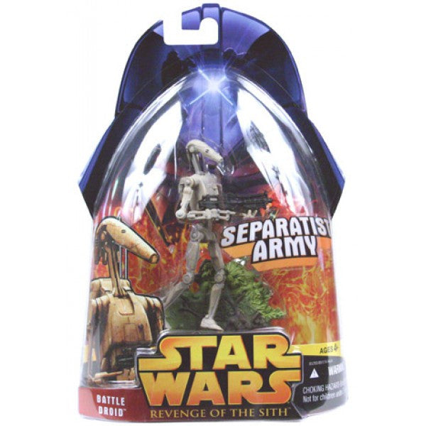 Revenge of the Sith Carded Battle Droid (Separatist Army)